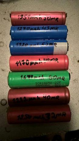 Аккумуляторы литий ионные. Формата 18650.
