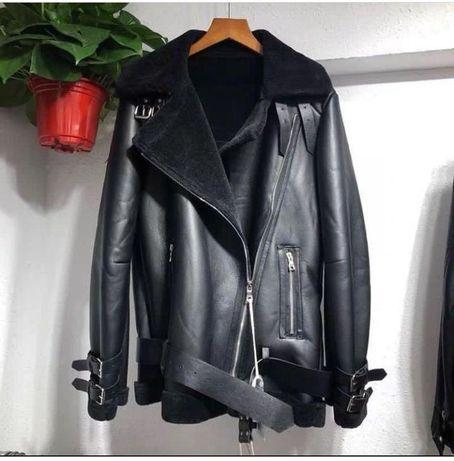 Куртка кожа Aviator