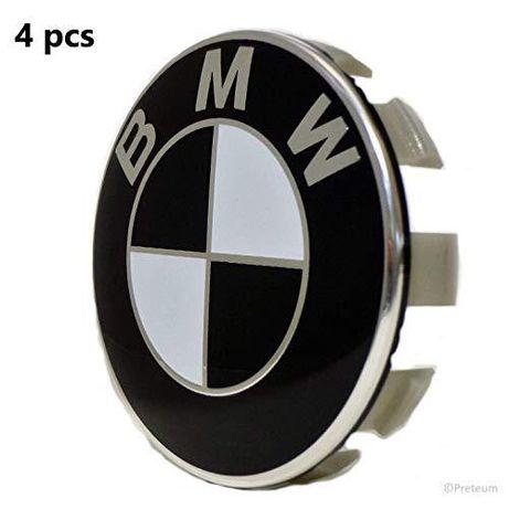 Set 4 Capace Noi Jante Aliaj Roti BMW 68mm R15 R16 R17 R18 R19 R20
