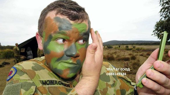 Airsoft Еърсофт Face Paint Army Боя за лице Военни Игри