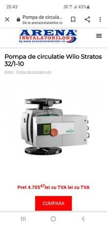 Pompa de circulatie WILO 32 / 1 - 10RX