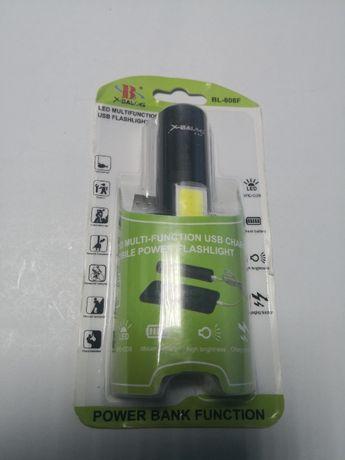 Lanterna multifunctionala cu led xpe + cob