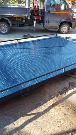 Cantar auto rutier bascula electronica 15 tone 6 m