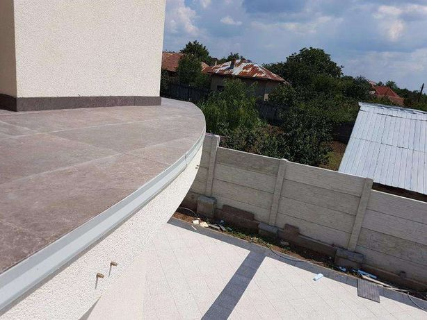 Picuratoare curbabile pentru terase si balcoane semirotunde