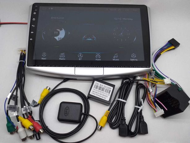 "Navigatie 10"" Android 10.1 -GPS, MP5,  VW Passat B6 B7 CC"