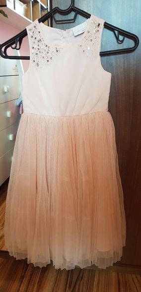 Официална рокля Next 110см + болеро