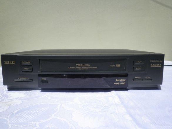 Toshiba V728G & Panasonic NV-SJ 410 видео плейър
