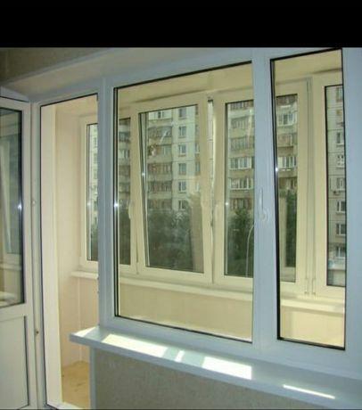 Пластиковые окна Двери и Балкон  Установка Пластиковых Окон Нур-Султан