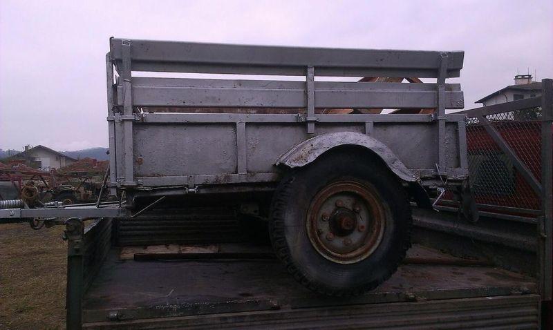 Ремърке трактор,джип,едноосно гр. Троян - image 1
