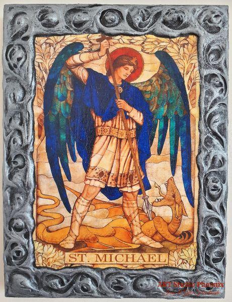 Икона на Свети Архангел Михаил, различни изображения icon Saint Michae гр. Пловдив - image 1