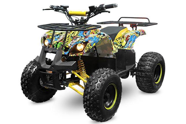 ATV electric NITRO Eco Toronto 1000W 48V 20Ah cu DIFERENTIAL #Yellow