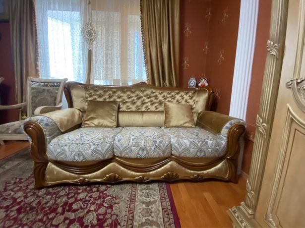 Мягкая мебель диван +2 кресло