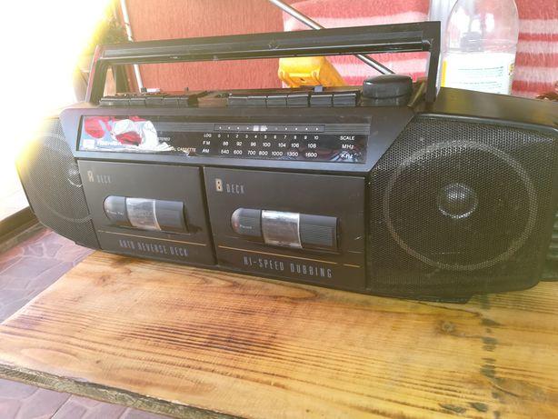 Dublu radio casetofon Toshiba RTWF 37