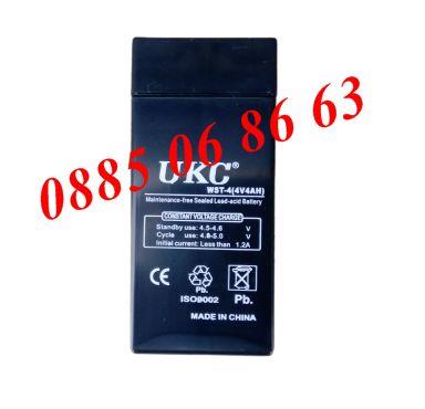 Акумулаторна батерия за електронни кантари, везни UKC 4V/4Ah, батерии