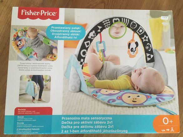 Активна бебешка гимнастика Fisher price