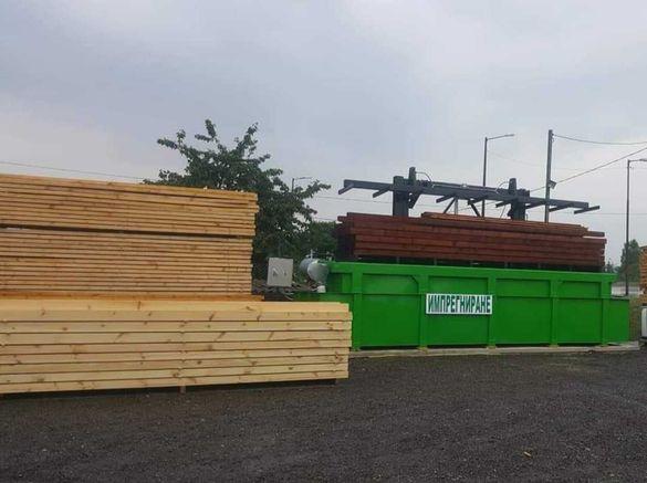 Дървен материал,греди,дъски,сачак,челни,летви,импрегниране,рендосване