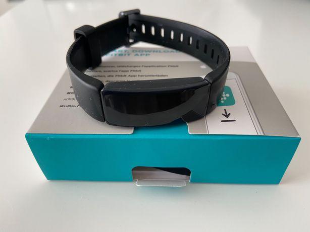 Fitbit inspire HR negru cu cutie