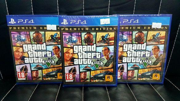 Чисто нова игра GRAND THEFT AUTO V(GTA 5) за PS4