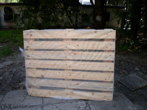 Дървени палета - скари