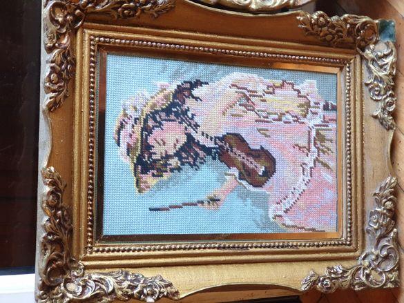 Истински-Гоблени Вилер/Бартер-Мостар/Момичето с цигулката,Горски замък