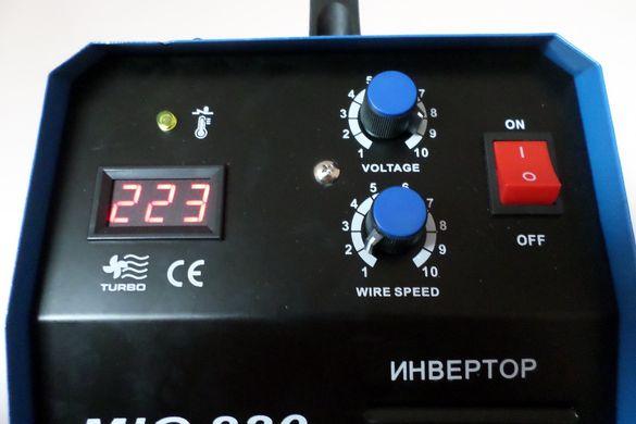 ТОП ЦЕНА ! МАХ220 Професионално Телоподаващо MIG 220А - 4м шланг