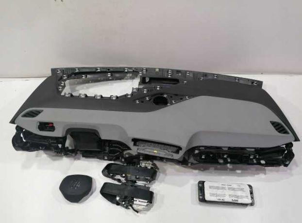 Volskwagen VW id3 id4 kit airbag volan pasager plansa de bord centuri