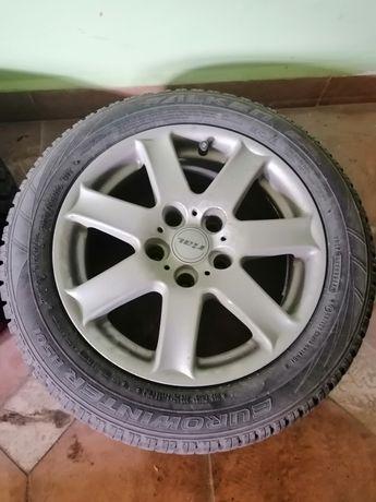 """Зимни гуми (дот17) с джанти 16""""BMW Falken eurowinter"""