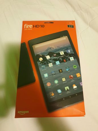 "Fire HD Tablet Black /10.1"" 64GB-1080 Full Hd with Alexa"