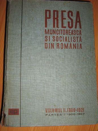 Presa muncitorească şi socialistă din România
