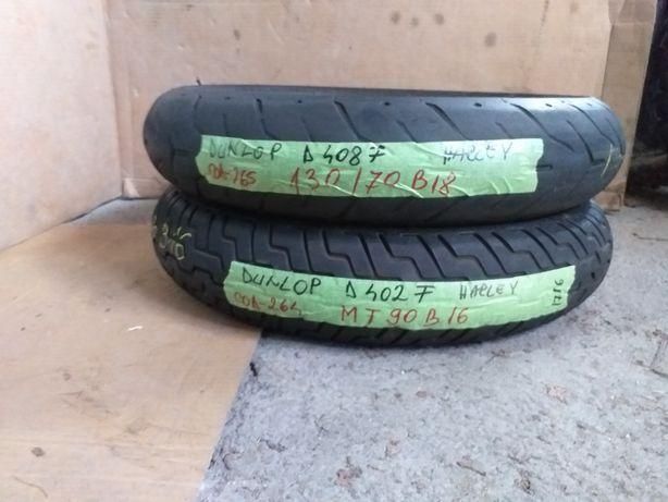 Anvelope Dunlop 130/70B18 Harley d402F MT90B16