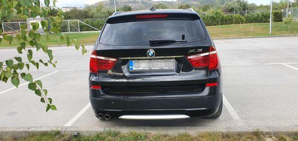 BMW X3 F25 брони прагове лайсни фарове