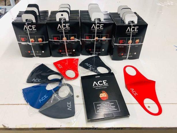 Повязка лицевая DesigNed Masks ACE /Дизайнерская маска