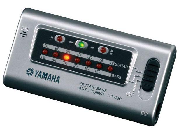 Тюнер для гитар и басов Yamaha YT100.