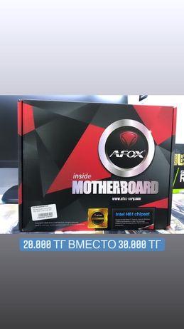 Материнская плата AFOX 1155/1150 сокет ddr-3