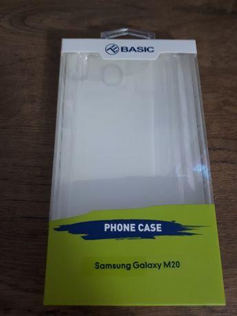 Samsung Galaxy M20 - husă silicon transparent marca Tellur. Sigilată!