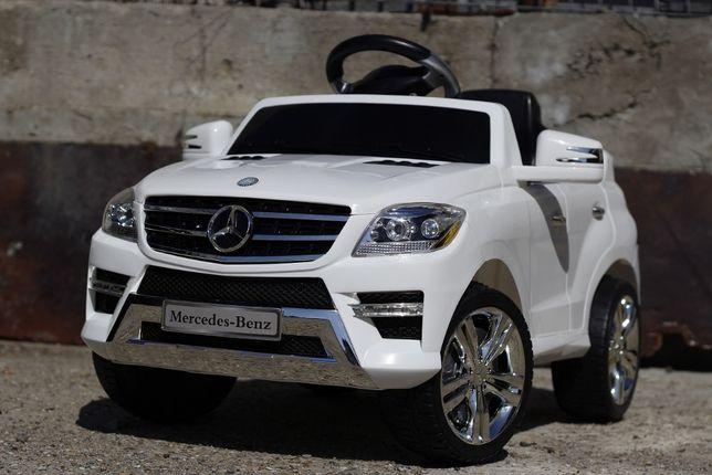 Masinuta electrica pentru copii Mercedes ML350 1x25W 6V NOUA #Alb