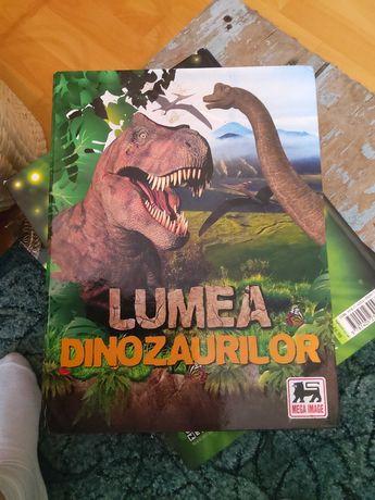 Album Lumea Dinozaurilor +102 cartonase