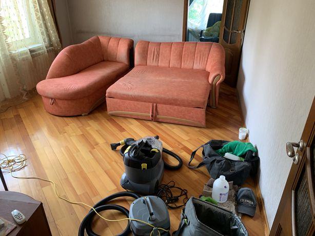 Химчистка диванов, химчистка матрасов, химчистка стульев и пуфиков