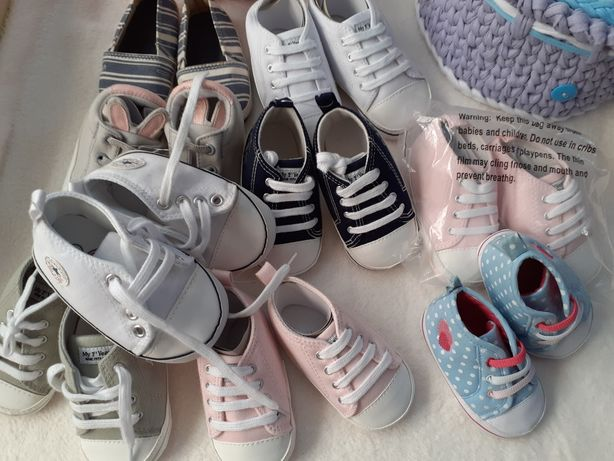 Incaltaminte /papucei/converse bebe /noi /0-6,6-12 luni /My1 st Years