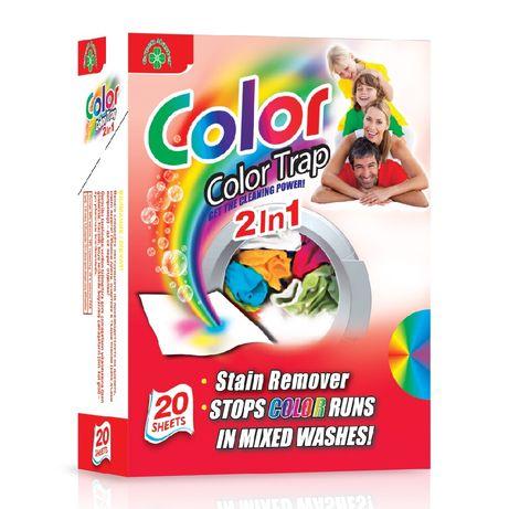 -50% Кърпички против оцветяване на пране