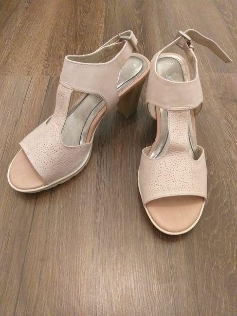 Sandale 38 Bonita piele naturala* Roz piersica