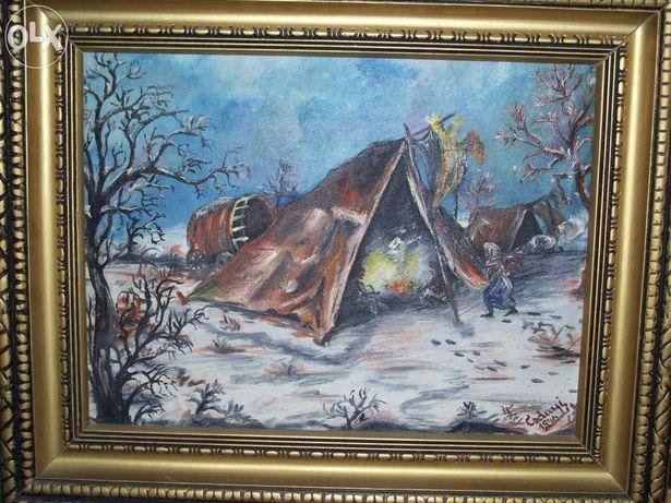 Tablou/pictura Csanyi, 1946