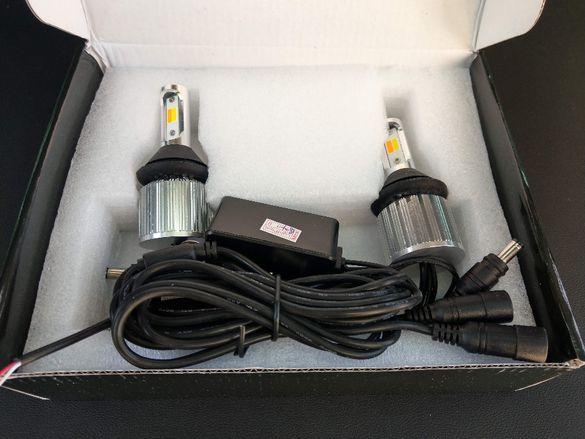 Универсални светодиодни LED дневни светлини DRL в мигача