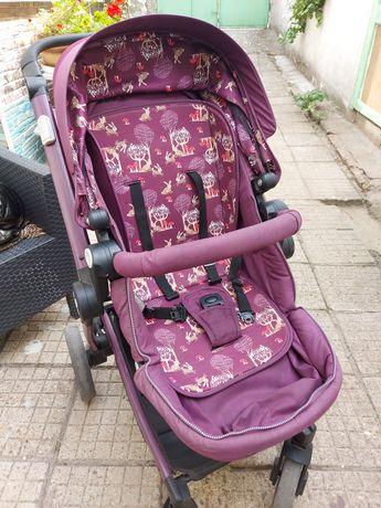 Бебешка комбинирана количка Кика Бу