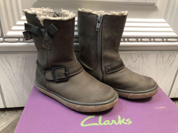 Весенние сапожки Clarks