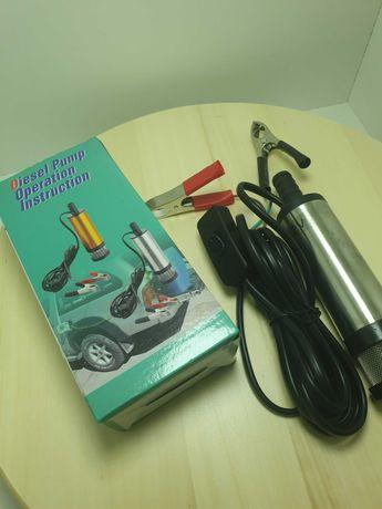 Pompa Electrica Submersibila Pentru Transfer 12v Motorina Si Apa Ulei