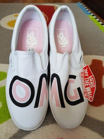 Tenesi /Adidasi /Slip - On Vans OMG