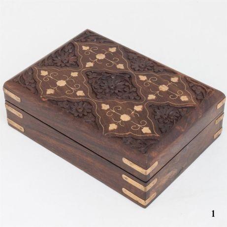 Un CADOU util!!! Cutie pentru bijuterii din Lemn masiv si bronz 6172!