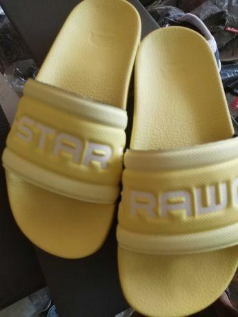 Нови дамски жълти чехли G Star оригинал