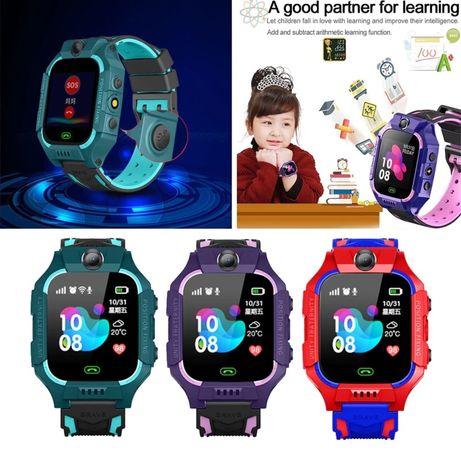 Водонепроницаемые детские смарт- часы (GPS, micro SIM, камера, SOS)